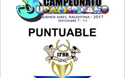 Programa de Competencias Sudamericano 2017 Actualizado
