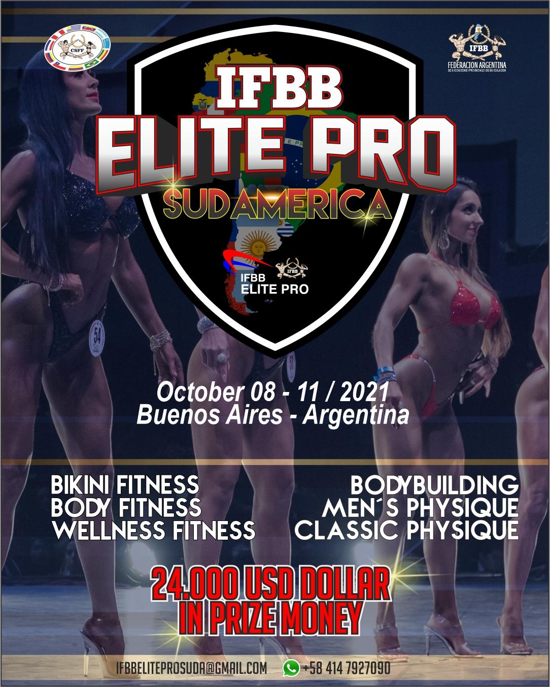 Campeonato IFBB Elite Pro Sudamérica 2021