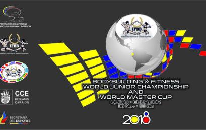 Reporte de inspección Campeonato Mundial Junior y Copa Master Ecuador 2018