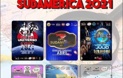 EVENTOS INTERNACIONALES 2021