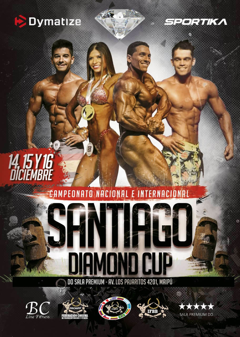 IFBB DIAMOND CUP CHILE 2018