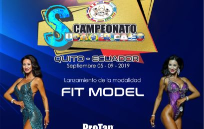 Fit Model nueva modalidad en el 45 Campeonato Sudamericano