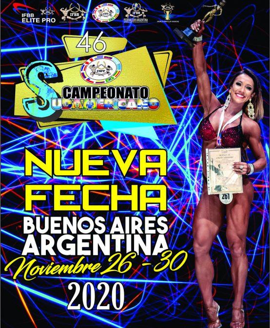 46 Campeonato Sudamericano de Físico Culturismo y Fitness
