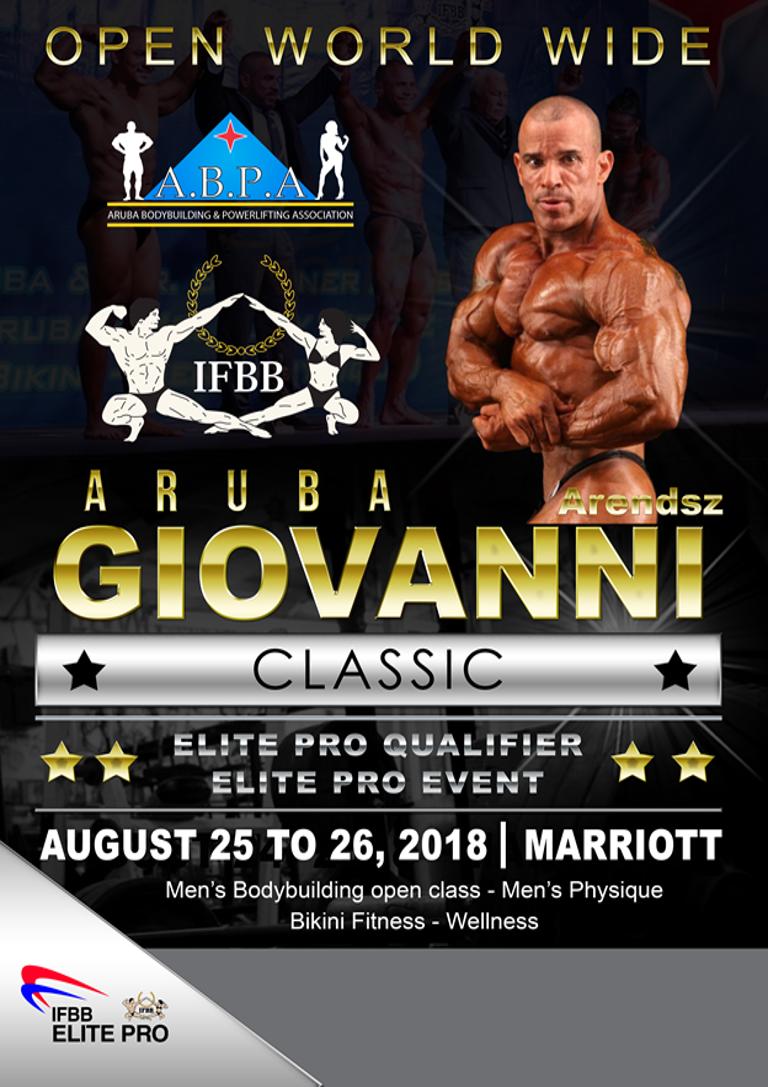 GIOVANNY ARENDZ CLASSIC 2018