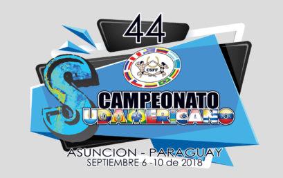 Invitación oficial 44 Campeonato Sudamericano de Físico Culturismo y Fitness