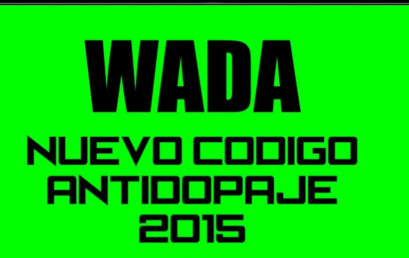 Nuevo código anti dopaje 2015