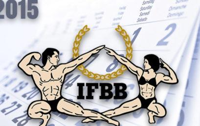 Calendario Internacional IFBB 2015