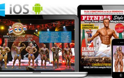 Ya esta al aire la 10ma edición de la revista on line Fitness Style