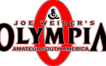 Mr. Olympia Amateur Sudamerica 2017 categorías convocadas