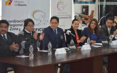 Lanzamiento ante los medios de comunicación del 42 Campeonato Sudamericano