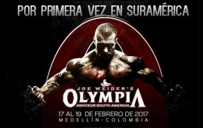 Mr. Olympia Amateur Sudamerica 2017 Reporte de Inspeccion final