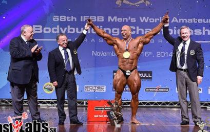 Resultados Campeonato Mundial IFBB Mr. Universo 2014