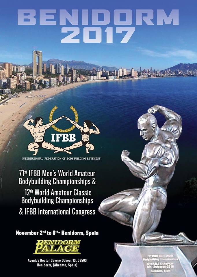 Resultados Oficiales 71 Campeonato Mundial Senior 2017