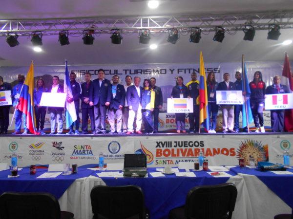 Resultados Oficiales Juegos Bolivarianos 2017