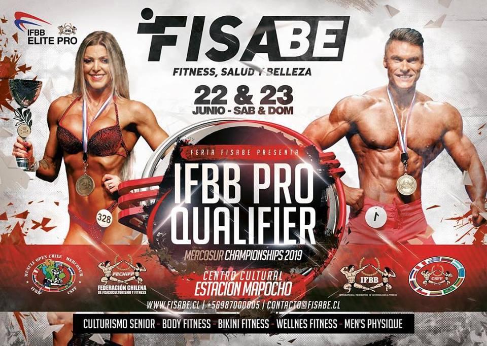 IFBB ELITE PRO QUALIFIER Chile 2019