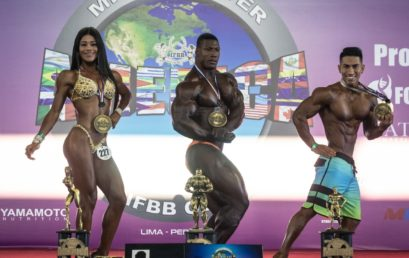Resultados oficiales Miss y Mister America IFBB 2019