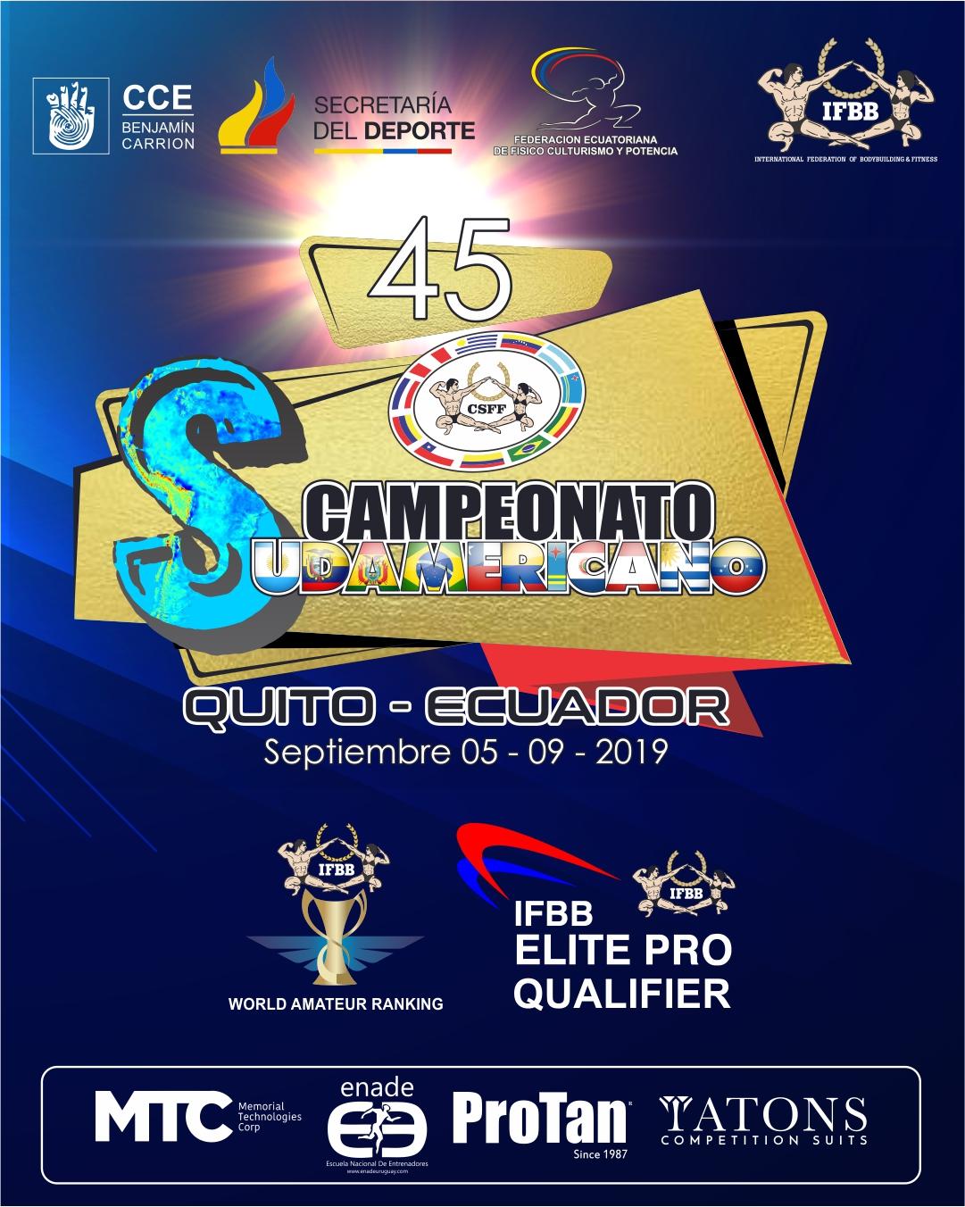 Reporte de Inspeccion 45 Campeonato Sudamericano