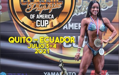 IFBB CLASSIC PHYSIQUE OF AMERICA CUP 21